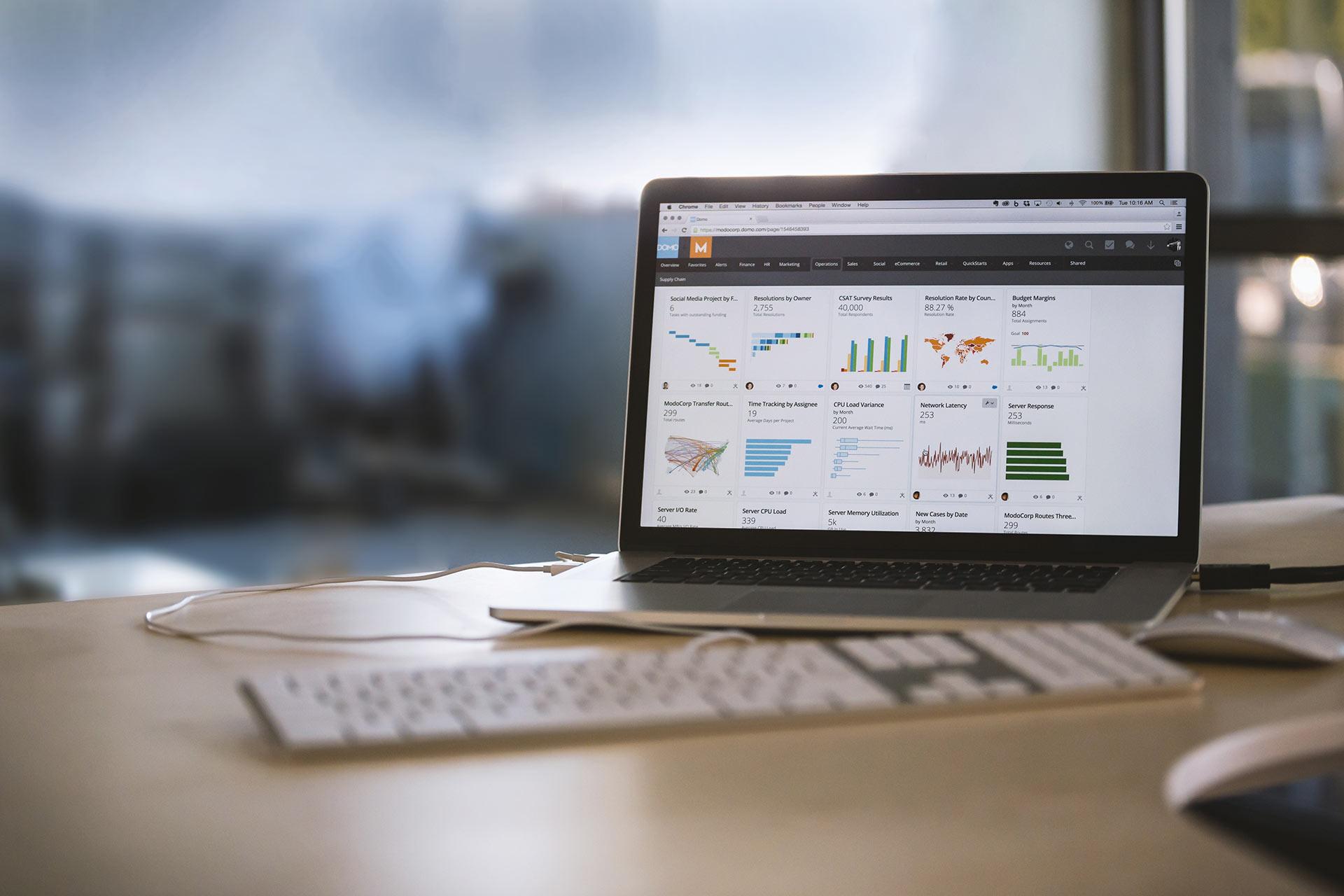 onefourzero full digital diligence image depicting digital analytics software